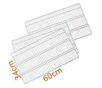 3 Prateleiras Geladeira Refrigerador Bosch KSU40 KSU44 - Ultra Displays