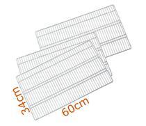 3 Prateleiras Geladeira Refrigerador Bosch RSU - Ultra Displays