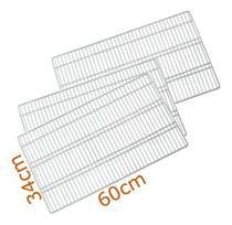 3 Prateleiras Refrigerador Continental / Bosch / Mabe / GE - Ultra Displays
