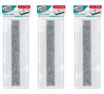 3 Refis Vassoura Mágica Plus Flashlimp -