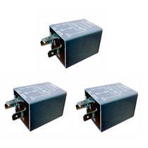 3 Relés Sinalizadores Acústicos De Farol Aceso VW / Ford / Gm DNI 0410 -