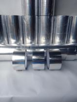3 Rolos Fita Lamina Adesiva Cromada Isolamento Caixa Isopor - Abadecobags