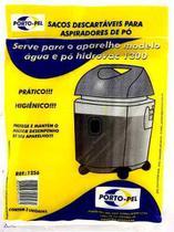 3 Saco De Aspirador De Pó Electrolux Hidrovac 1300 Portopel -