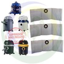3 Saco Descartável para Aspirador De Pó Arno: Ar12 / Água Po / H2po / H3po / H2po Animal Care -