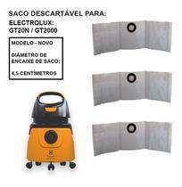 3 Saco P/ Aspirador Electrolux Gt2000 -