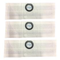 3 Sacos Descartáveis P/ Aspirador de Pó Electrolux A10T/A13 - PORTOPEL