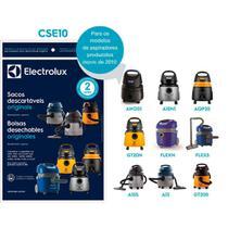 3 Sacos para Aspirador Electrolux A10, A13, AQP, GT20, FLEX e AWD01 (Produzidos a partir de 2010) - CSE10 -