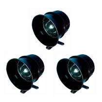 3 Sirenes Piezoelétricas 127v Residencial DNI 4110 -
