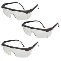 3 Uni Óculos Proteção Rj Jaguar Proteção Total Olhos Kalipso - CA10.346 -