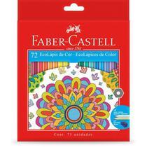3 x lapis de cor sextavado ecolapis 72 cores edição limitada faber-castell -