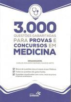 3000 questoes gabaritadas para provas e concursos em medicina - Sanar