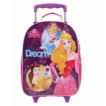 30421 - Mochila de Rodinhas G Disney Princesas Dermiwil -