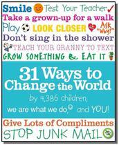 31 ways to change the world - Longman -