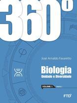 360º - Biologia - Unidade E Diversidade - Vol. 1 - Ftd