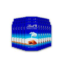 36x Chocolate Lindt Swiss Classic ao Leite 100g