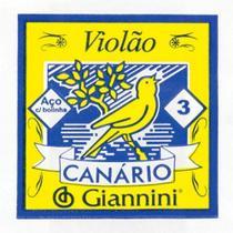 3ª CORDA P/ VIOLAO GESWB3 GIANNINI ACO - Canario