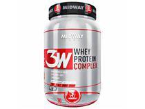 3W Whey Protein Complex 930g Baunilha - Midway
