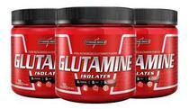 3x glutaminas Pura Isolates 300g - Integral Medica - Integralmedica