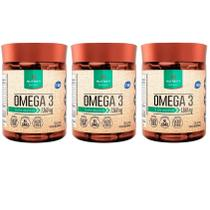 3x Ômega 3 Fish Oil - 60 caps - 1360mg - Nutrify -