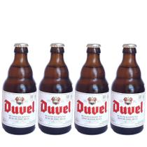 4 cerveja importada belgian golden ale duvel garrafa 330ml - Cervejaria Duvel Moortgat