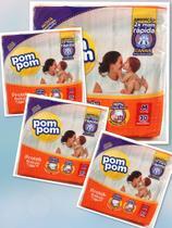 4 pacotes de Fraldas Pompom- Tamanho M (120 fraldas) - Pom Pom