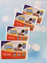 4 pacotes de Fraldas Pompom- Tamanho  P (128 fraldas) - Pom Pom