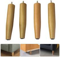 4 pes para camas box 20 cm  de altura madeira eucalipto! - Rodrim