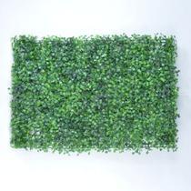 4 Placas de Grama Artificial Buchinho para Jardim Vertical - Vila Das Flores