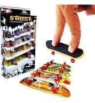 4 Skate De Dedo Fingerboard Sk8 Plástico Com Lixa - Shantou