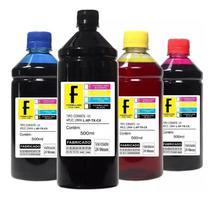 4 Tintas 500ml Para Impressora L375 - L380 - L385 - Formulabs