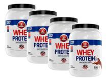 4 Whey Protein Concentrado 500g Cada Midway Labs -