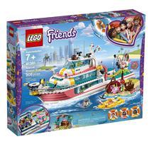 41381 Lego Friends - Barco da Missão de Resgate -
