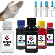 450ml Kit Tinta Recarga Cartuchos Impressora Hp 122 662 60xl - Rejet