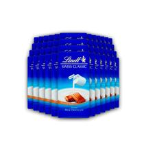 48x Chocolate Lindt Swiss Classic ao Leite 100g