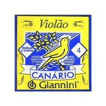 4ª CORDA P/ VIOLAO GENWB4 CANARIO NYLON - Giannini
