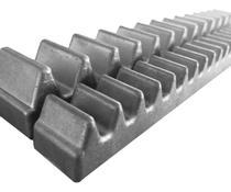 4pcs Gomo Cremalheira 30cm Alumínio Peccinin Dz Super Light Gatter -