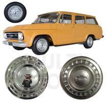 4x Calota GM Veraneio 1975 1976 1980 1982 1984 1985 Normal - Chevrolet