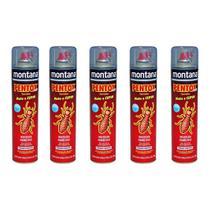 5 Anti Cupim E Brocas Pentox Spray Base Agua 400ml Montana -