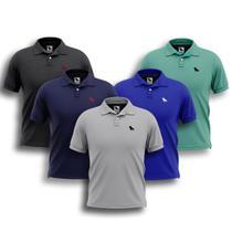 5 Camisas Gola Polo Masculina Original Oferta Imperdivel - Estilo Rei