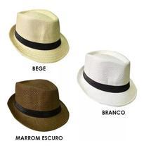 5 Chapeu Malandro Carioca Panama Palha COR: VARIADOS - C W Acessorios
