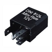 5 Mini Relés Auxiliares Uso Geral 12V 30/20A - DNI 8126 -