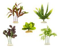 5 Plantas De Seda Para Decoração Aquário, Vaso, Lago - Escolha O Modelo Após A Compra - Kares