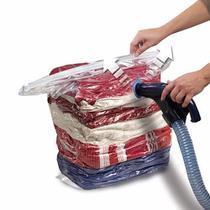 5 Saco A Vácuo Organizador Roupa Edredom Cobertor 60x80cm - Nova