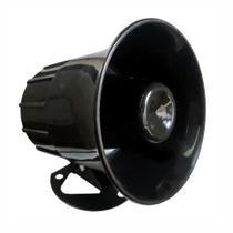 5 Sirenes Eletrônicas - 12V - 1,25A/15W - DNI 3300 -