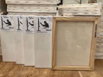 5 Telas para Pintura no tamanho 30 x 40 - Telas Ideal