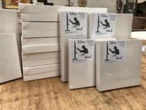 5 Telas tipo Painel para Pintura no tamanho 30 x 40 - Telas Ideal