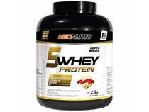 5 Whey Protein 2,3 kg Sabor Morango e Banana - Neo Nutri