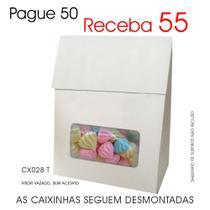 50 Caixinhas de Papel p/ Suspiros, Mini Ovos de Páscoa, Chocolates - Lembrancinhas CX028 T - Roah