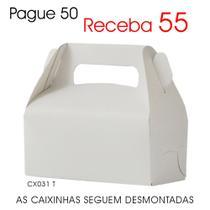 50 Caixinhas de Papel p/ Suspiros, Mini Ovos de Páscoa, Chocolates - Lembrancinhas CX031 T - Roah