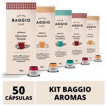 50 Cápsulas Para Nespresso  Café Baggio  Chocolate Trufado, Menta e Caramelo - Baggio Café